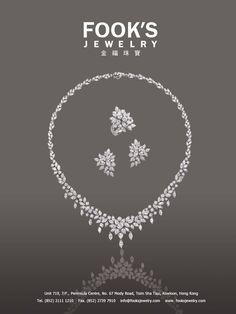Fook's Jewelry Ltd Real Diamond Necklace, Diamond Pendant Necklace, Ring Necklace, Diamond Jewelry, Pearl Jewelry, Wedding Jewelry, Jewelery, Stylish Jewelry, Jewelry Sets
