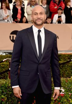 Pin for Later: Feast Your Eyes on All the Gorgeous Men at the SAG Awards Pictured: Keegan-Michael Key Mtv Movie Awards, Sag Awards, Billboard Music Awards, Palm Springs Film Festival, Michael Key, Elle Style Awards, Imaginary Boyfriend, Cannes Film Festival, Good Looking Men