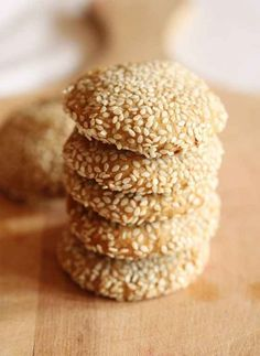 Sweet Sesame Cookies