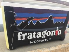 Painted Fraternity Cooler   Tags: painted frat cooler, cooler, formal cooler, formal cooler designs, painted cooler, cooler connection, painted cooler for sale, Fraternity cooler, painted Fraternity cooler, Patagonia painted cooler, painted cooler fratagonia, mountain weekend cooler, woodie cooler, formal cooler