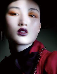 Magazine: Vogue China December 2015 Vogue Beauty Photographer: Benjamin Lennox…