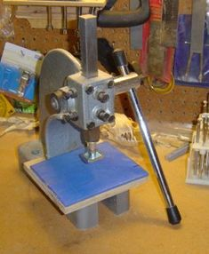 Stamping With An Arbor Press