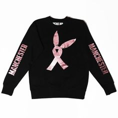 MICHAEL NGO 'Solidarity for Manchester' Sweatshirt A Fundraiser for... (£60) ❤ liked on Polyvore featuring tops, hoodies and sweatshirts
