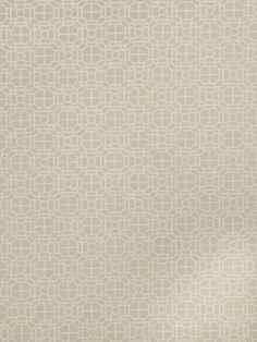 Upholstery Fabric- Jaclyn Smith Geo  Cashew
