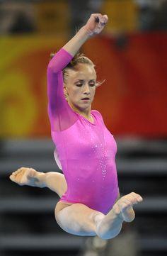Nastia Liukin Olympic gymnast gymnastics