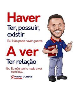 Portuguese Grammar, Portuguese Lessons, Portuguese Language, School Motivation, Study Motivation, School Hacks, I School, English Study, Learn English