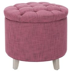 You should see this Scarlett Ottoman in Rose on Daily Sales!