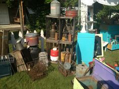 Lots of good junk to be found! Treasures on Foxwood show in Newport Wa. Mark your calendars! Second weekend in August each year!