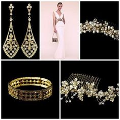 Golden accessories www.vintagebridaljewellery.co.uk Wedding Accessories, Crown, Vintage, Jewelry, Fashion, Moda, Corona, Jewlery, Wedding Props