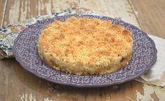 Torta Crumble de Maçãs e Amoras  http://www.acucarando.com.br/farofando-com-crumble-de-maca-e-amora/