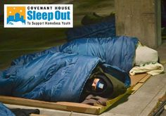 Covenant Houses throughout the United States and Canada will host Sleep Out events this fall to raise critical funds and awareness to the issue of youth homelessness. Be sure to join in the discussion on Social Media using the hash tag #CHSleepOut.