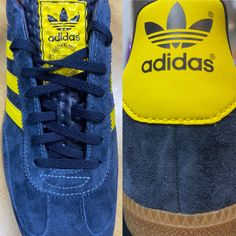 Adidas @sizeofficial AS230 a lovely shoe excellently made 💛💙