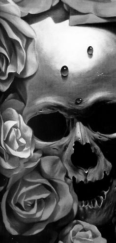 For my skull loving flower girl ❤️