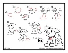 download how to draw a dog
