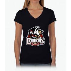 bakersfield condors apparel Womens V-Neck T-Shirt