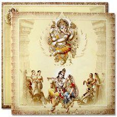 Buy Hindu Wedding Cards Indian Wedding Invitations Online