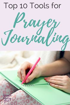 Prayer journaling is a great way to enhance your faith. Here are some tools that you MUST-HAVE if you want to get started. (No artistic talent required) Quiet Time with God ideas | Bible study for Christian Women | Spiritual Growth