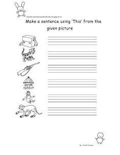 free fun worksheets for kids free fun printable english worksheet for class i - Free Printable Fun Worksheets For Kids