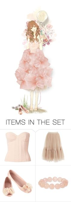 """""""The Unexpected Dress"""" by runarei ❤ liked on Polyvore featuring art"""