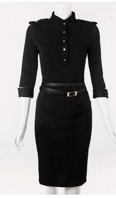 Free Shipping !2013 Autumn  Winter new fashion Vintage Fashion Brand Victoria Dress, sexy club dresses+Belt,Plus Size :S -2XL $28.86