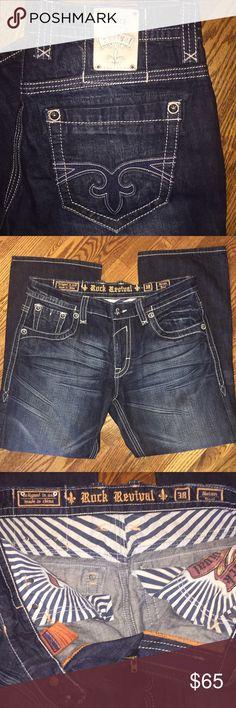 Men's Rock Revival jeans...Size 38 Gorgeous men's Rock Revival Nolan jeans...Size 38 Rock Revival Jeans