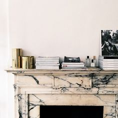marble mantlepiece
