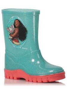 Adventure Time Kids Character Blue Green Rubber Wellies