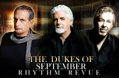 @Citi Performing Arts Center  Wang Theatre/  August 9, 2012, 8 PM - Three R legends, singer/pianist Donald Fagen, vocalist/keyboardist Michael McDonald and singer/guitarist Boz Scaggs make up the Dukes of September Rhythm Revue coming to the Citi Wang Theatre on August 9th for one show only.