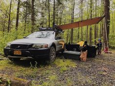 Last night I had a chance to mount the recently-arrived ARB 2000 Touring Awning on my Fourtreks Modular Awning Mounts . Volvo Xc, Volvo Wagon, Volvo Cars, Volvo Estate, Adventure Car, Car Camper, Expedition Vehicle, Car Insurance, Campervan