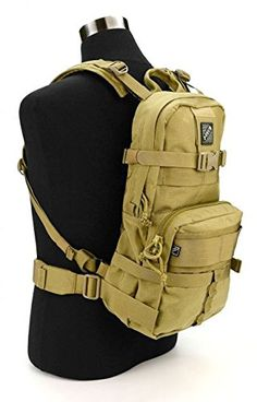 JTech Gear D1 A Assault Backpack Coyote Tan PA0105010A *** For more information, visit image link.
