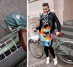 Biking in NYC - Laura de Lille | Lily.fi