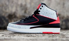 "Air Jordan 2 Retro ""Infrared 23 & Cement"" (Preview Pictures)"