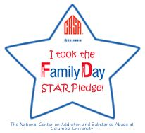 Pledge Now to become a Family Day STAR! By doing this, you are uniting with parents all across the country who agree that the parental engagement fostered around the dinner table makes a difference in the lives of their kids!  What your kids really want at the dinner table is YOU! Family Day, Your Family, Conversation Starters For Kids, Dinner Table, Take My, Kids And Parenting, The Fosters, How To Become, Parents