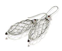 Absalom Khumalo made these platinum earrings Platinum Earrings, Jewellery, Guys, Bracelets, Silver, Jewels, Schmuck, Bracelet, Sons