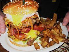 Thurman Cafe in Columbus, Ohio... VERY good hamburger :) For the boy's birthday.