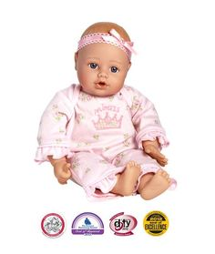 Little Princess Playtime Baby Doll- Lt Skin/Blue Eyes