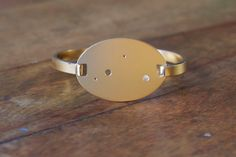 Gold Plated Libra Constellation Hinged Bracelet on Etsy, $70.00
