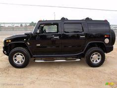 Black 2007 Hummer H2 SUV