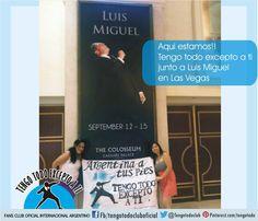 Tengo Todo Excepto a Ti, fans club oficial internacional Argentino seguinos en Facebook: https://www.facebook.com/profile.php?id=100005989518273