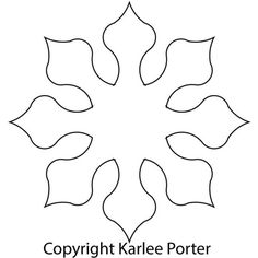 Best 12 Eight Sided Applique – Karlee Porter – SkillOfKing. Paper Flower Backdrop, Giant Paper Flowers, Paper Roses, Large Flowers, Felt Flowers, Diy Flowers, Paper Butterflies, Flower Petal Template, Leaf Template