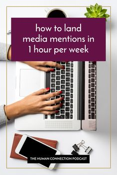 What if I told you that it only takes 1 hour per week to land worthwhile media mentions for your brand?   YES, you heard that right. 1 hour, per week. 🤯  It seems a lot less daunting, right?   Take a listen to this episode to find out how to fit media pitching into just 1 hour per week and the specific tasks you should focus on during that timeframe.   #prprofessional #brandstrategist #publicistlife #womeninPR #startupPR #PR101 #landingmedia #mediamentions #mediarelations #pitchingtips… How To Find Out, How To Become, Brand Strategist, Thing 1, Free Email, Human Connection, Getting To Know You, Free Website, Landing