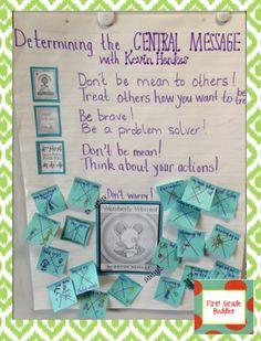 First Grade Buddies: Central Message