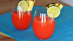 Make this festive punch for National Rum Punch Day!