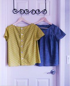 Mathilde blouse variations by Lindsey