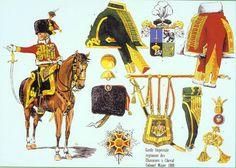 Charles LEFEBVRE-DESNOUETTE, Colonel-Major du Régiment des Chasseurs à Cheval de la Garde 1808