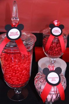 Mickey and Minnie Birthday Party Ideas | Photo 6 of 24 | Catch My Party