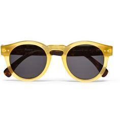 Leonard Round-Frame Acetate Sunglassesby Illesteva.