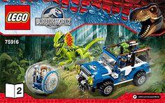 Dilophosaurus Ambush 75916 - LEGO Jurassic World - Building Instructions…