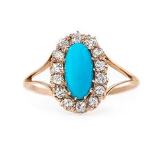 Exquisite Victorian Turquoise Ring | Bridgeton from Trumpet & Horn
