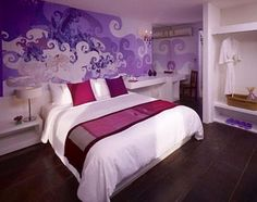 purple bedroom for teens | ... for Purple Teenage Girls Bedroom Paint Decorating Design Ideas